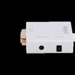 S-link SL-MHVS15 Mini-HDMI to VGA+Audio Adapter - Thumbnail