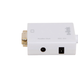 S-link SL-MHVS15 وصلة تحويل من Mini-HDMI إلى VGA مع مخرج صوت - Thumbnail