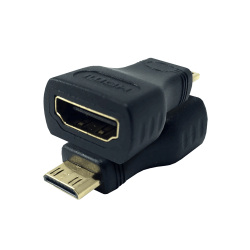 S-Link SLX-685 HDMI to Mini HDMI Gold Adapter - Thumbnail