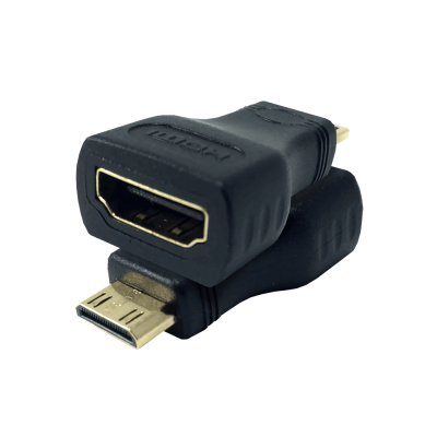 S-Link SLX-685 وصلة تحويل HDMI إلى Mini-HDMI الذهبية