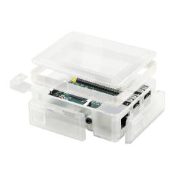 Raspberry Pi 2/3 Modüler Yükseltme Aparatı Şeffaf - Thumbnail