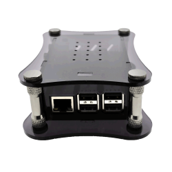 Siyah Akrilik Kasa (Raspberry Pi + BOSS DAC uyumlu) - Thumbnail