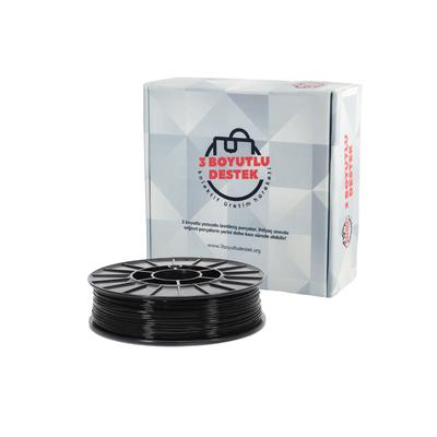 Siyah PLA Filament 1,75mm - 3 Boyutlu Destek