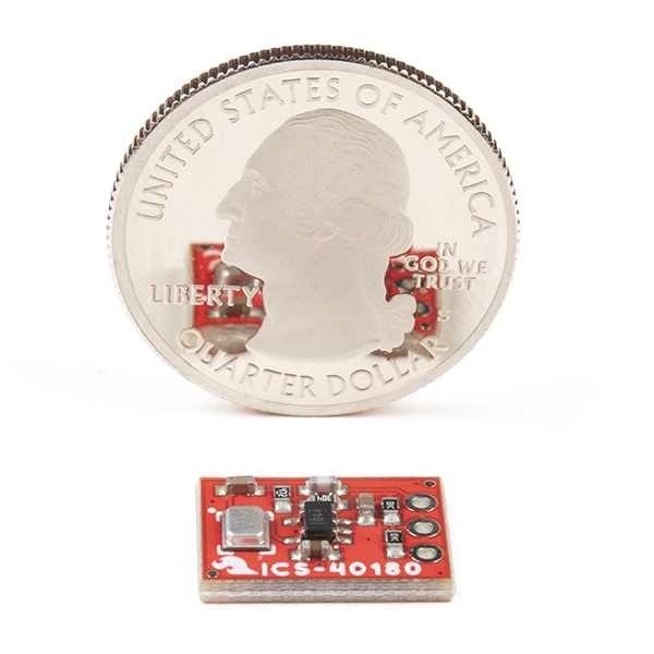 SparkFun Analog MEMS Mikrofon Breakout - ICS-40180 - Thumbnail