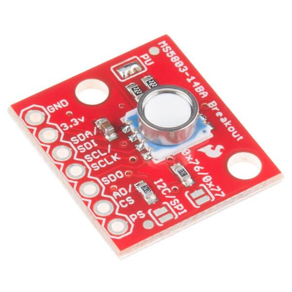 Sparkfun - SparkFun Basınç Sensörü Breakout - MS5803-14BA