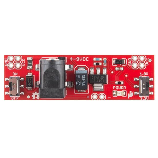 SparkFun Breadboard Güç Kaynağı Çubuğu - 3.3V1.8V - Thumbnail