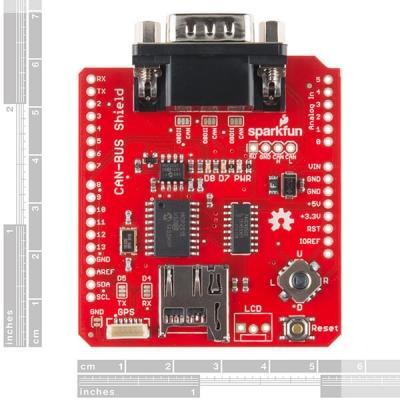 Sparkfun CAN-BUS Shield