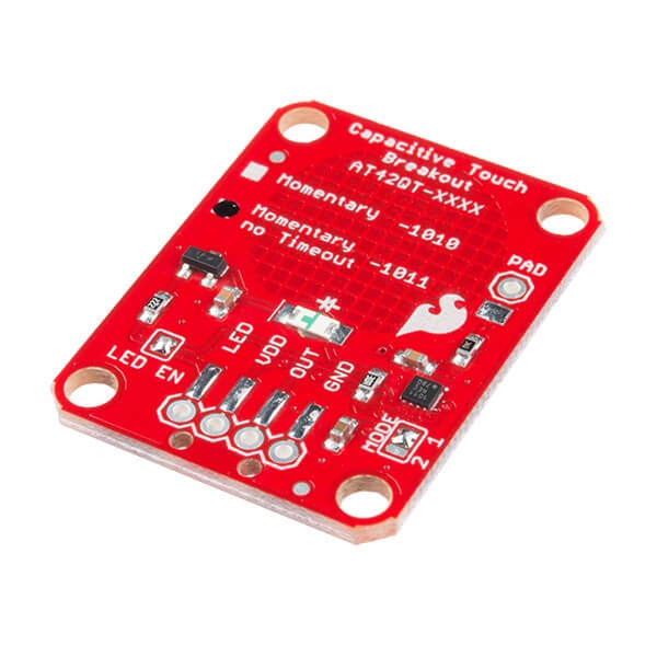 Sparkfun - SparkFun Capacitive Touch Breakout - AT42QT1011