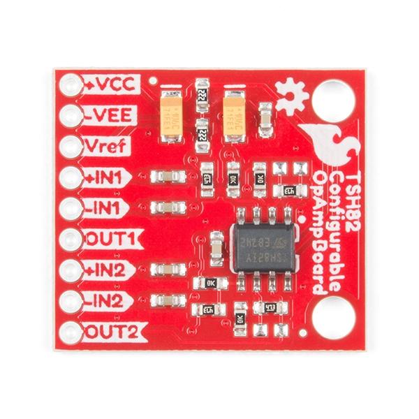 SparkFun Configurable OpAmp Board - TSH82 - Thumbnail
