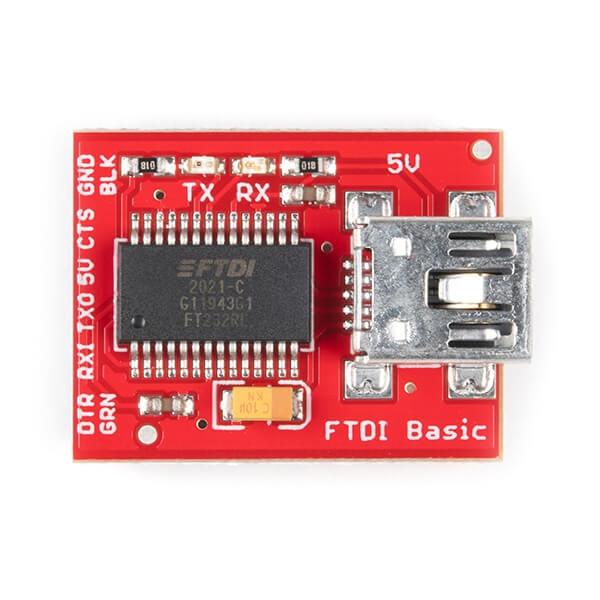 SparkFun FTDI Başlangıç Seti - 5V - Thumbnail