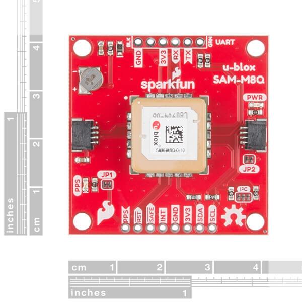 SparkFun GPS Breakout - Çip Anten, SAM-M8Q (Qwiic) - Thumbnail