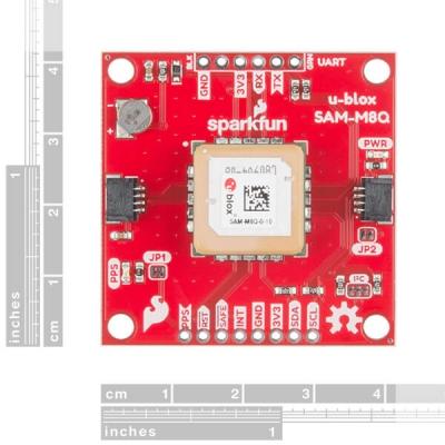 SparkFun GPS Breakout - Çip Anten, SAM-M8Q (Qwiic)