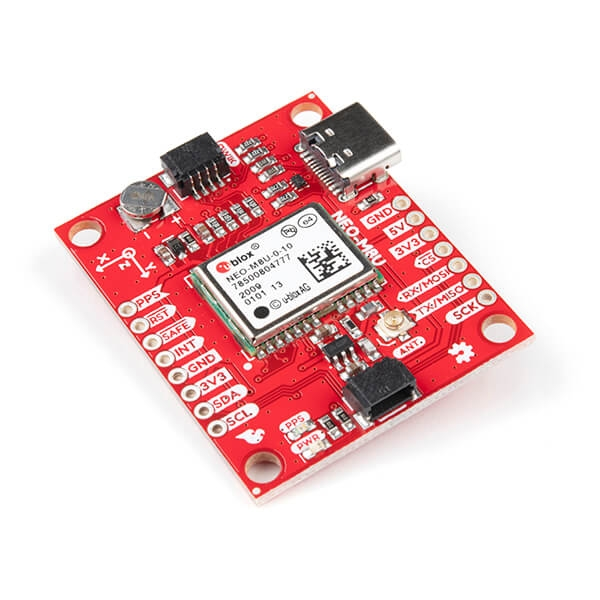 Sparkfun - SparkFun GPS Dead Reckoning Breakout - NEO-M8U (Qwiic)