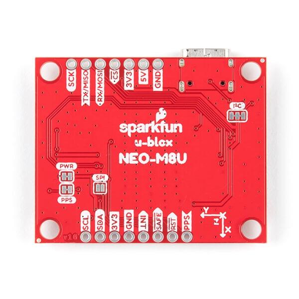 SparkFun GPS Dead Reckoning Breakout - NEO-M8U (Qwiic) - Thumbnail