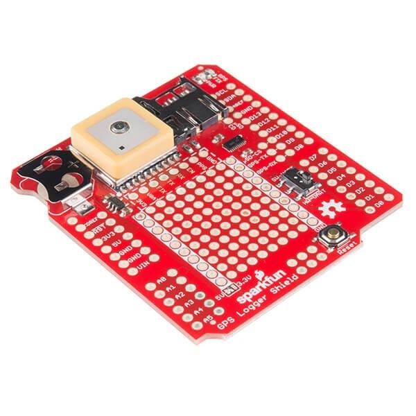 Sparkfun - SparkFun GPS Kaydedici Shield