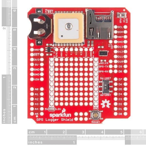 SparkFun GPS Kaydedici Shield - Thumbnail