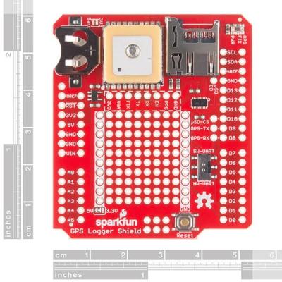 SparkFun GPS Kaydedici Shield