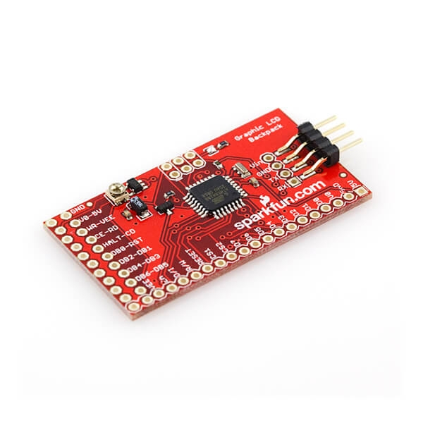 Sparkfun - SparkFun Graphic LCD Serial Backpack