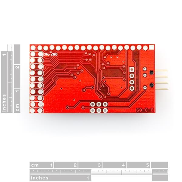 SparkFun Graphic LCD Serial Backpack - Thumbnail
