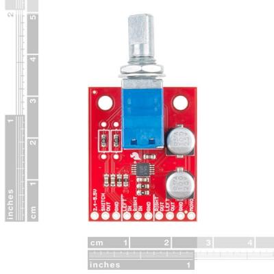 SparkFun Gürültülü Kriket Stereo Amplifikatör - 1.5W