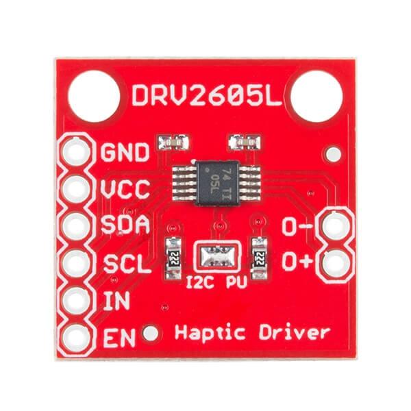 SparkFun Haptic Motor Driver - DRV2605L - Thumbnail