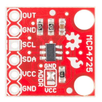SparkFun I2C DAC Breakout - MCP4725