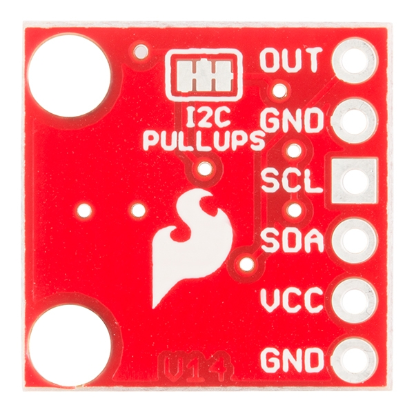 SparkFun I2C DAC Breakout - MCP4725 - Thumbnail