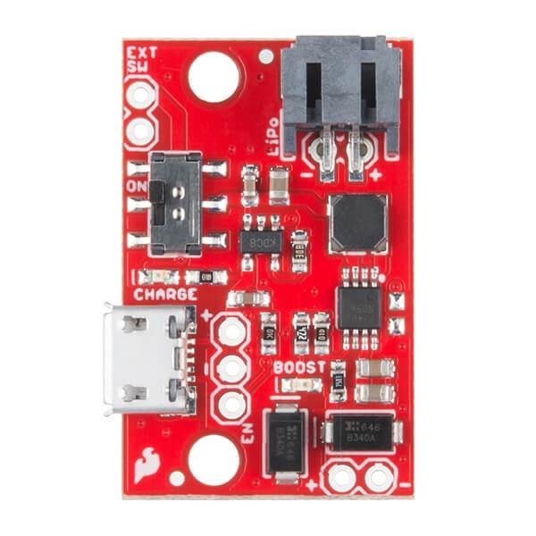 SparkFun LiPo Charger/Booster - 5V/1A - Thumbnail