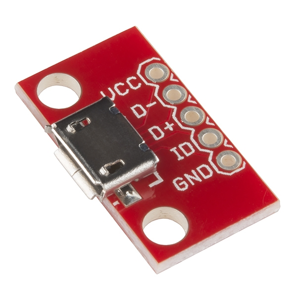 Sparkfun - SparkFun microB USB Breakout