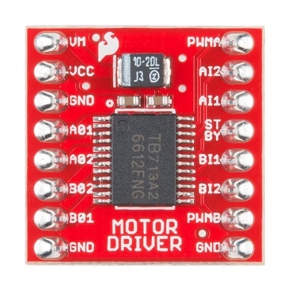 SparkFun Motor Sürücüsü - Çift TB6612FNG (Başlıklı) - Thumbnail
