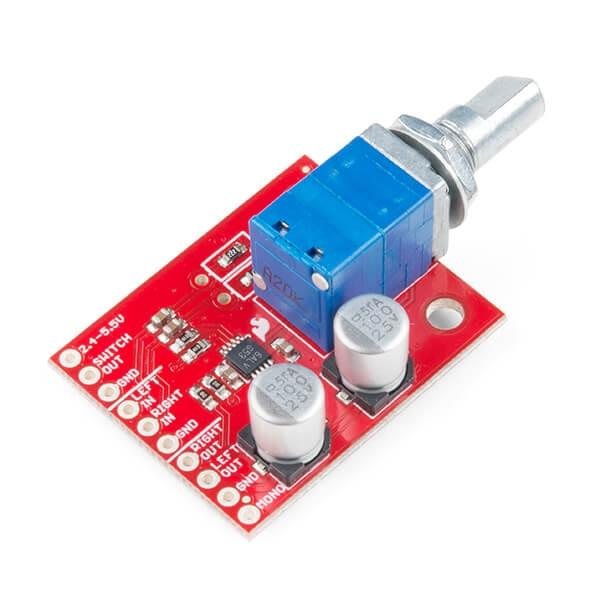 Sparkfun - SparkFun Noisy Cricket Stereo Amplifier - 1.5W