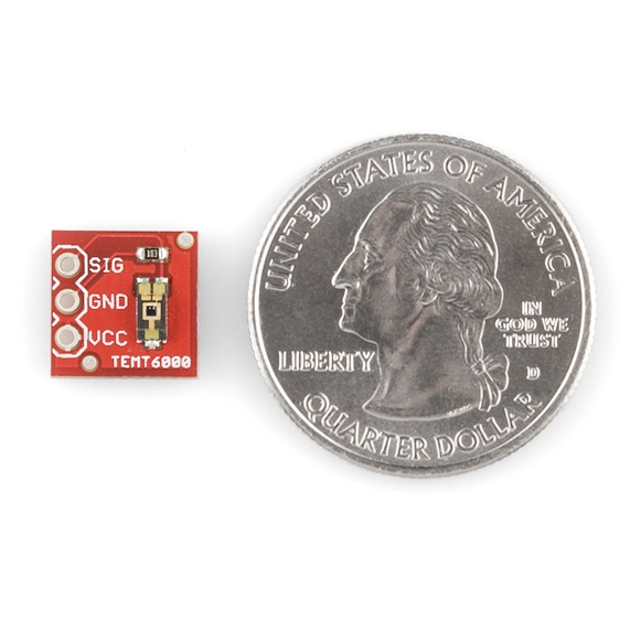 SparkFun Ortam Işığı Sensörü Breakout - TEMT6000 - Thumbnail