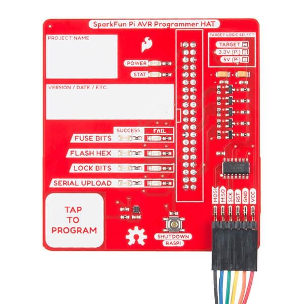 SparkFun Pi AVR Program HAT - Thumbnail