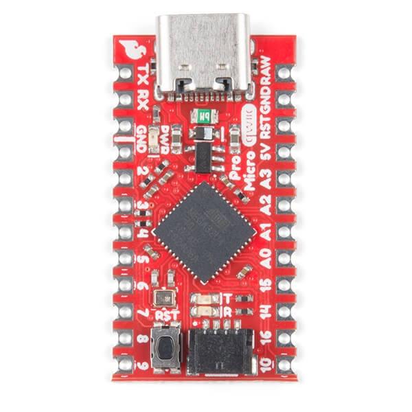 SparkFun Qwiic Pro Micro - USB-C (ATmega32U4) - Thumbnail