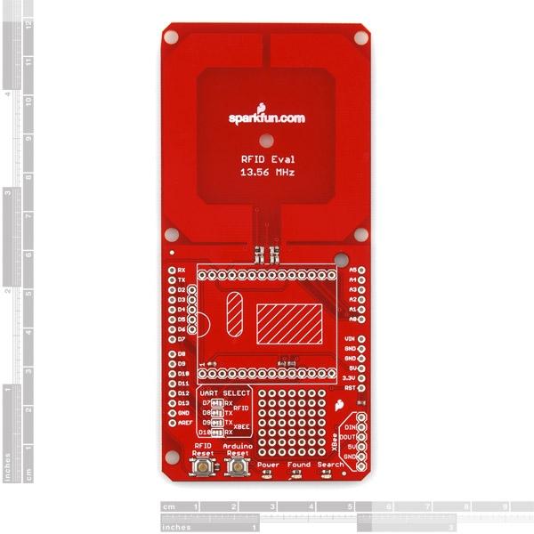 SparkFun RFID Evaluation Shield - 13.56MHz - Thumbnail