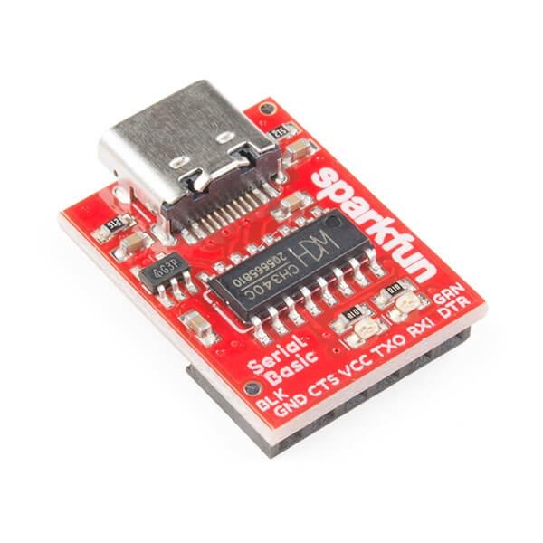 Sparkfun - SparkFun Seri Temel Breakout - CH340C ve USB-C