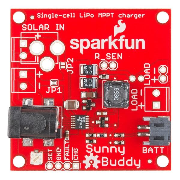 SparkFun Sunny Buddy - MPPT Solar Şarj Cihazı - Thumbnail