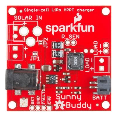 SparkFun Sunny Buddy - MPPT Solar Şarj Cihazı