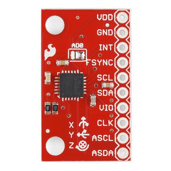 SparkFun Üç Eksenli İvme Ölçer ve Gyro Breakout - MPU-6050 - Thumbnail