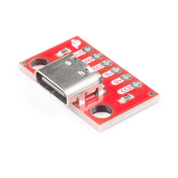 Sparkfun - SparkFun USB-C Breakout