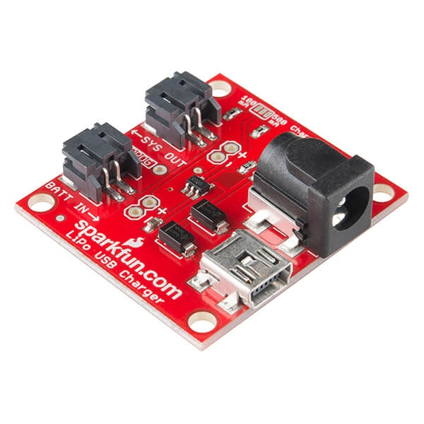 Sparkfun - SparkFun USB LiPoly Şarj Cihazı - Tek Hücre