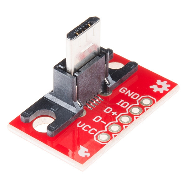 Sparkfun - SparkFun USB MicroB Fiş Breakout