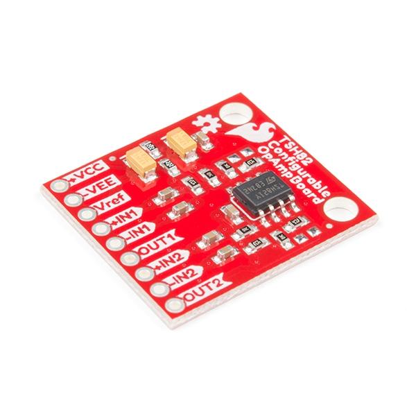 Sparkfun - SparkFun Yapılandırılabilir OpAmp Kartı - TSH82