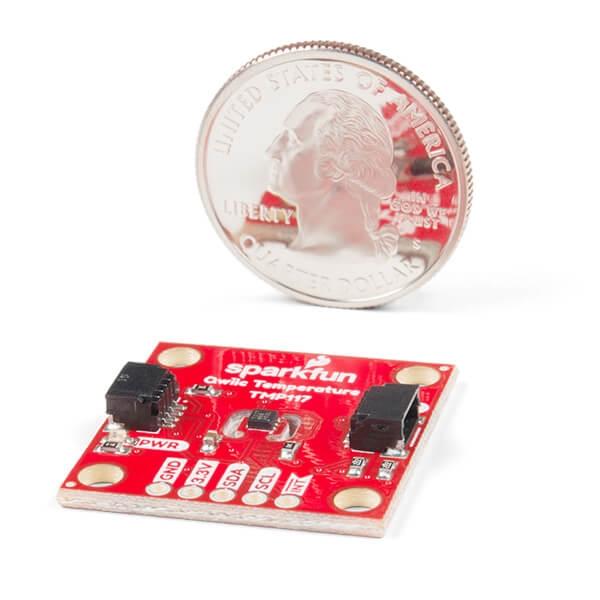 SparkFun Yüksek Hassasiyetli Sıcaklık Sensörü - TMP117 (Qwiic) - Thumbnail