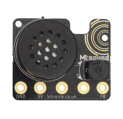 Kitronik - Powered micro:bit Speaker Board