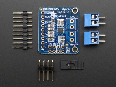 Stereo 3.7W D Sınıfı Ses Amplifikatörü - MAX98306