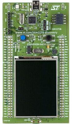 STM32F429I-DISC1 Discovery Geliştirme Kiti