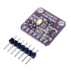 SAMM - TCS34725 RGB Renk Ve IR Filtre Sensör Modül
