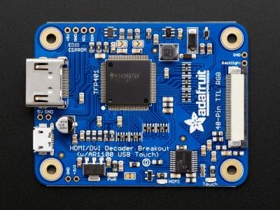 TFP401 HDMI/DVI Dekoder - 40-Pin TTL Breakout - Dokunmatik