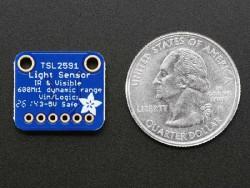 TSL2591 Yüksek Dinamik Aralıklı Işık Sensörü - Thumbnail